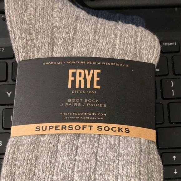 Frye Accessories - Frye Supersoft Boot Socks 2 pack new
